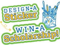 Design a Sticker, Win a Scholarship